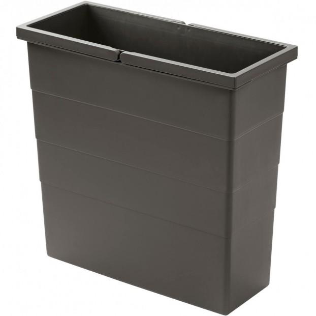Inner bin 18 litres, slate grey