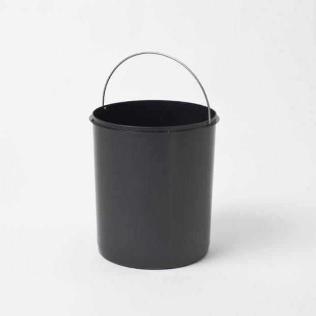 Inneneimer 15 Liter, schwarz
