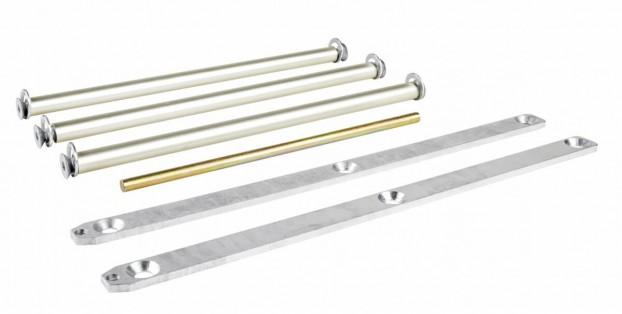 H-8 Seilanschlag oben für Leiternaußenbreite 520mm auf Aluminiumsprossen