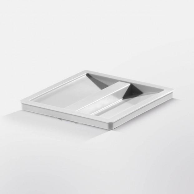 Lid for 15-litre inner bin, light grey