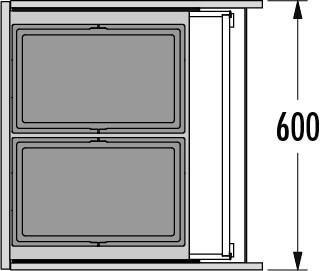 Hailo AS Triple XL 600 28/28