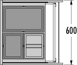 Hailo AS Triple XL 600 28/13/13/D