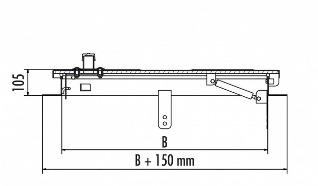 HS2 aus Edelstahl 1.4301 / AISI 304
