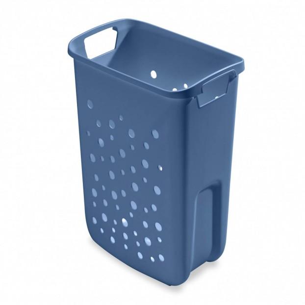 Wäschebehälter 33 Liter, taubenblau