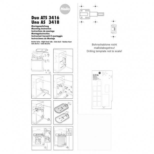 Assembly instructions 3416/3418