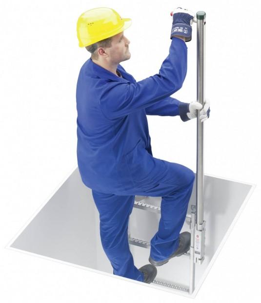 Leitermontage am Holm 40x20mm