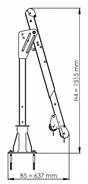 Auslegearm Typ ASS-2