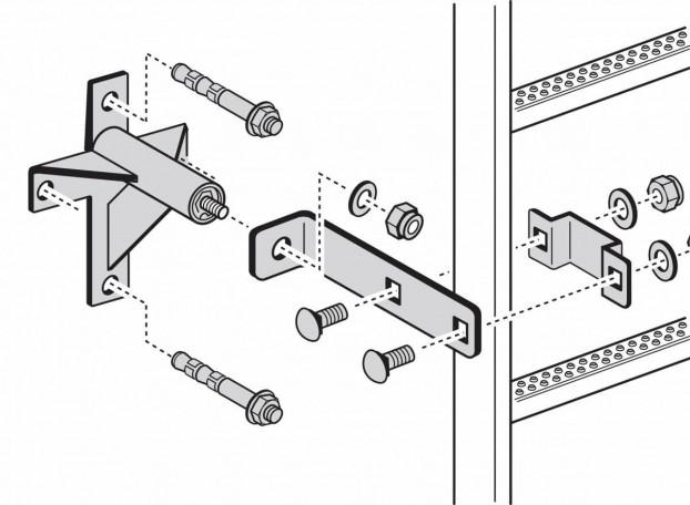 Wandhalter-Unterkonstruktion für WDVS