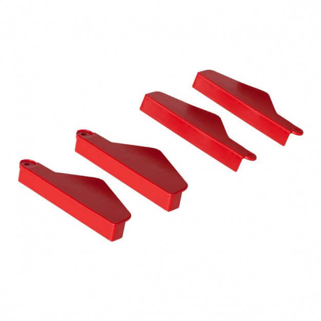 Set of hinged step covers (4 pces.)
