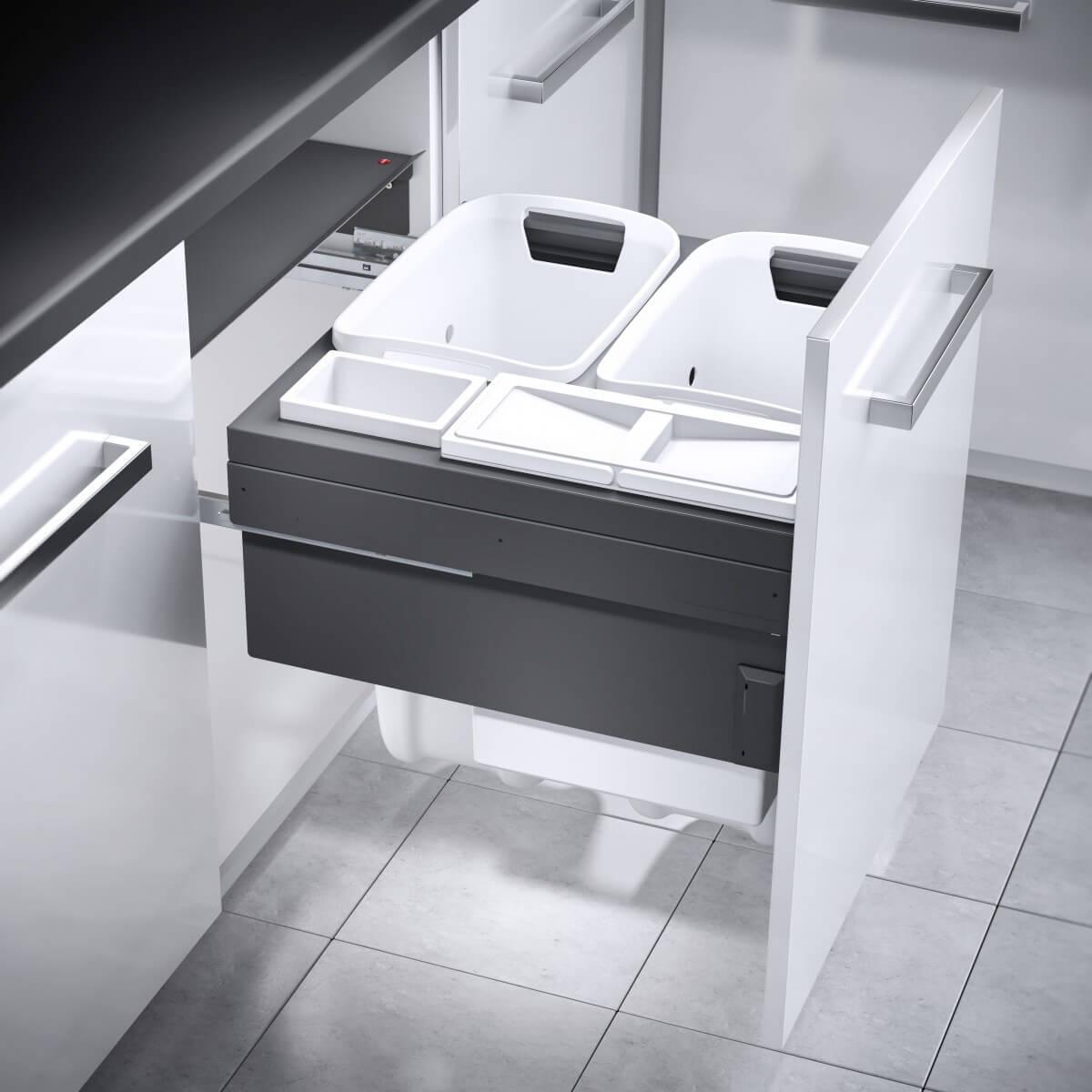 Hailo Laundry Carrier 600 dunkelgrau