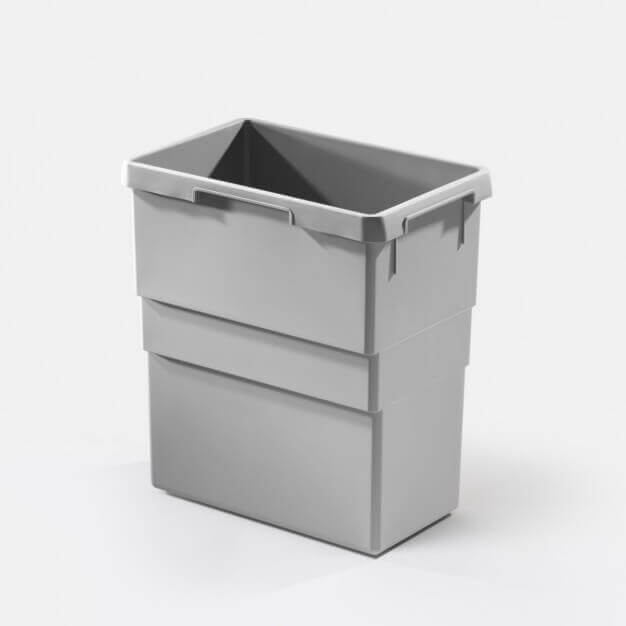 Inner bin 30 litres, light grey