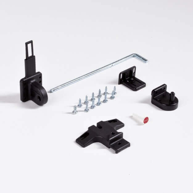 Mounting accessories, black