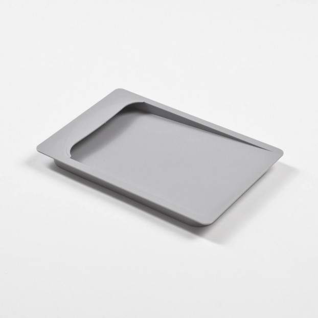 Container lid, light grey
