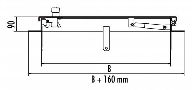 HS7 aus Edelstahl 1.4301 / AISI 304