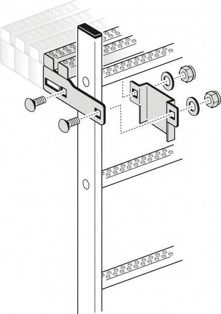 Austrittsverlängerung für Holm 40x20mm