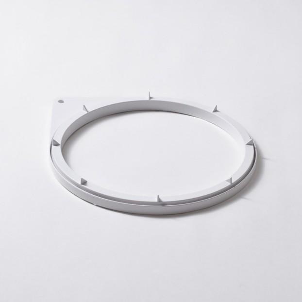 Mantle ring bottom, white