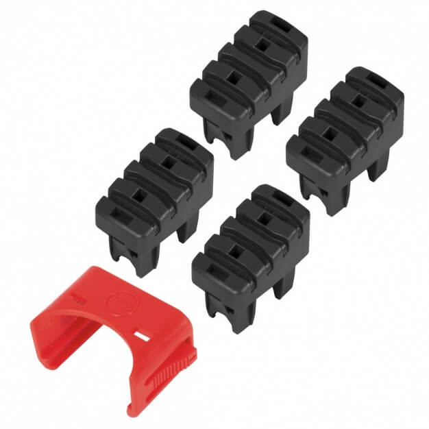 Foot set (4 pces.) step & support stile