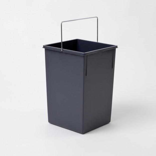 Inner bin 15 litres, dark grey