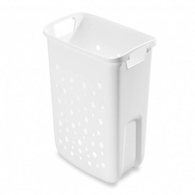Laundry bin 33 litres, white