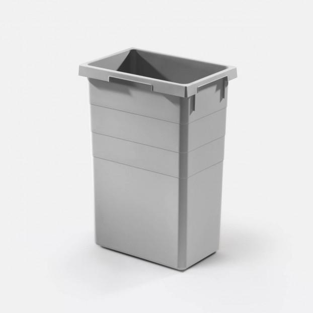 Inner bin 38 litres, light grey