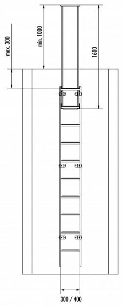 Zweiholm-Einstiegshilfe