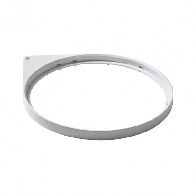 Mantle ring top, white