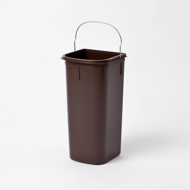 Inner bin 8 litres, brown