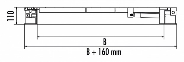 HS5 aus Edelstahl 1.4301 / AISI 304